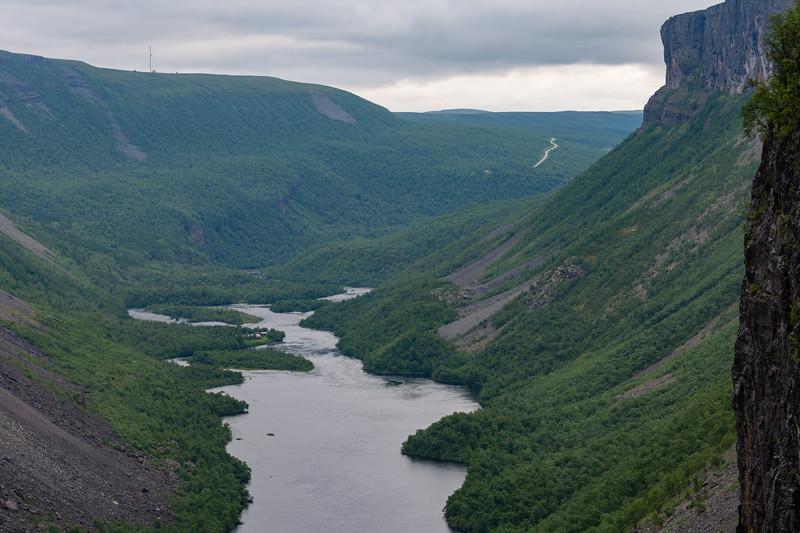 Alta canyon. <br /> Alta, Norway