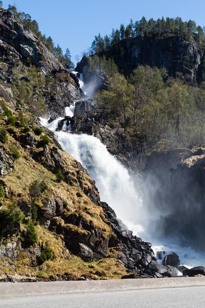 Låtefossen, Odda, Norway