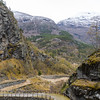 View of the Vindhellavegen (old road).<br /> Norway.