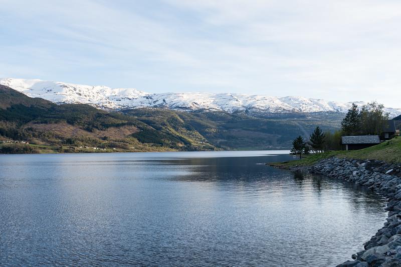 Lac de Voss<br /> Norvege.