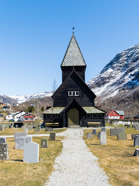 røldal stavkirke.<br /> Norway.