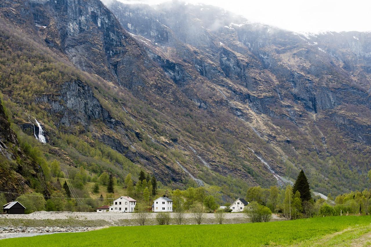 Flåm village.<br /> Norway