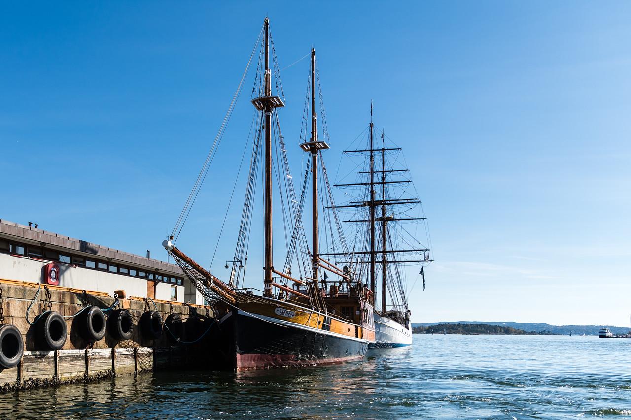 Oslo's harbour.<br /> Norway.