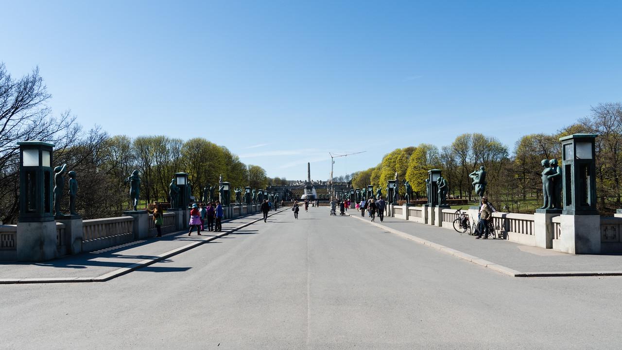 Vigeland Park.<br /> Oslo, Norway.