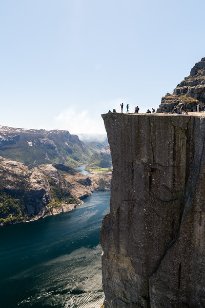 Preikestolen / Pulpit rock.