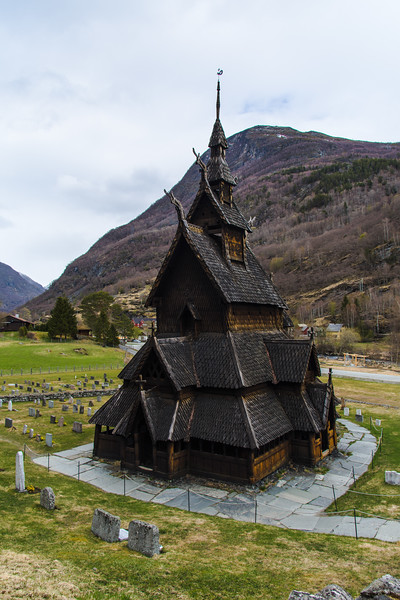Borgund Stavkirke.<br /> Norway