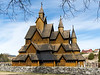 Heddal stave church.<br /> Notodden, Norway.