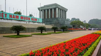 Hanoi Ho Chi Minh Mausoleum