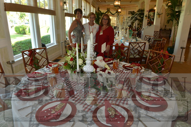 2018 Boca Grande Garden Club's Christmas Luncheon