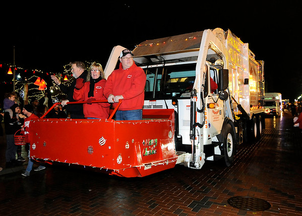 Don Knight   The Herald Bulletin<br /> The city of Anderson held their Christmas Celebration and Parade on Saturday.