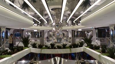 Het schip MSC Seaview