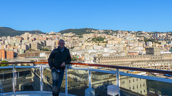 Start cruise Genua