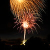 Don Knight | The Herald Bulletin<br /> Anderson ended their Independence celebration with fireworks on Wednesday.
