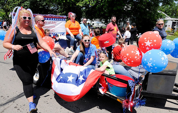 Don Knight | The Herald Bulletin<br /> Chesterfield's Independence Day Parade on Thursday.