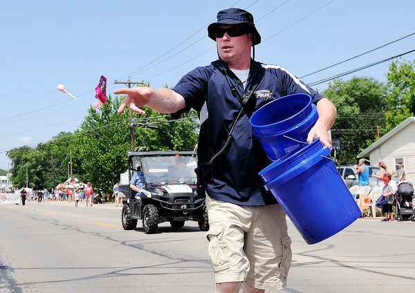 Don Knight   The Herald Bulletin<br /> Chesterfield's Independence Day Parade on Thursday.