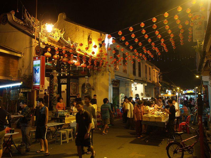 Heron Street night market