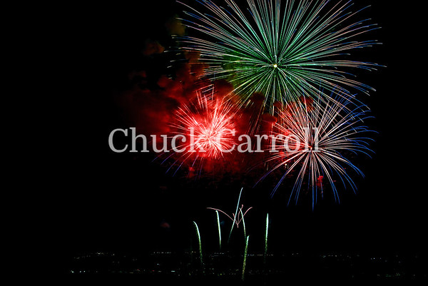 4th Fest 2018 Fireworks - July 4, 2018  - Chuck Carroll