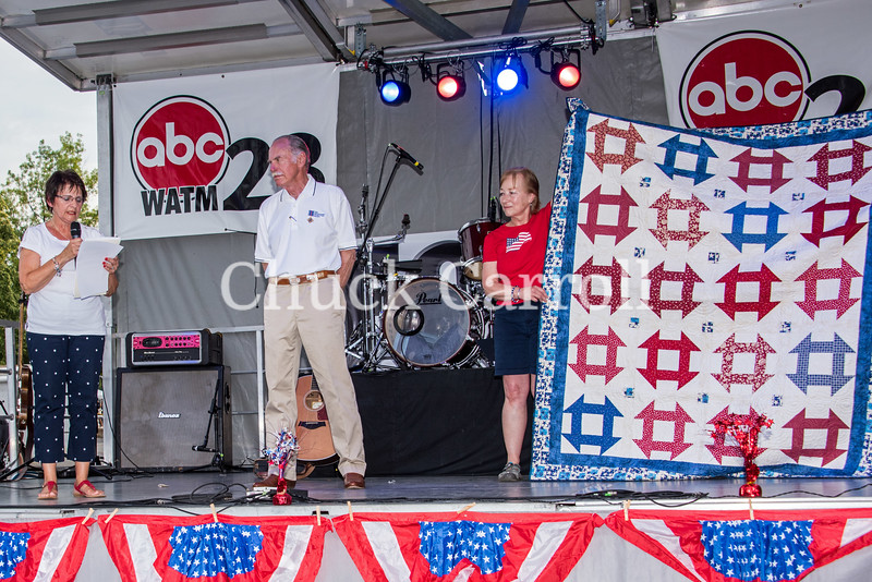 4th Fest 2018 Quilts of Vallor - July 4, 2018  - Chuck Carroll