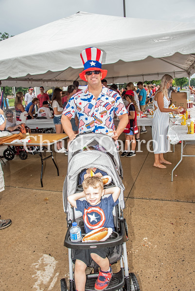 4th Fest 2019 Parade - July 4, 2019  - Chuck Carroll