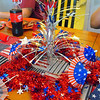 Gram made a beautiful 4th center piece...