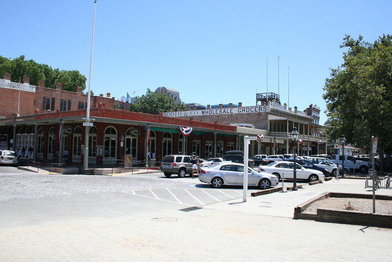 Welcome to old town Sacramento!