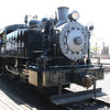 The engine that is running at old town Sacramento.