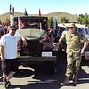 Marines; LCpl Dan Sturge, Sgt. Kiel Gillis.  Parade vehicle operators