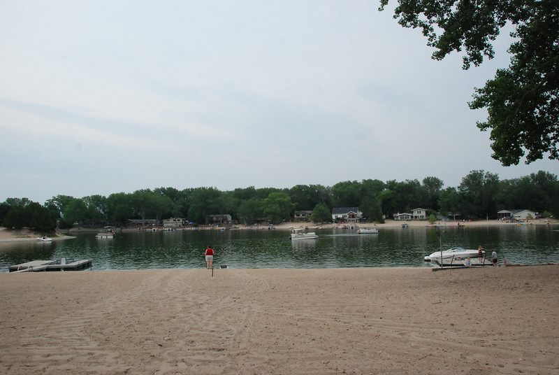 A cloudy day at the lake. But very nice!