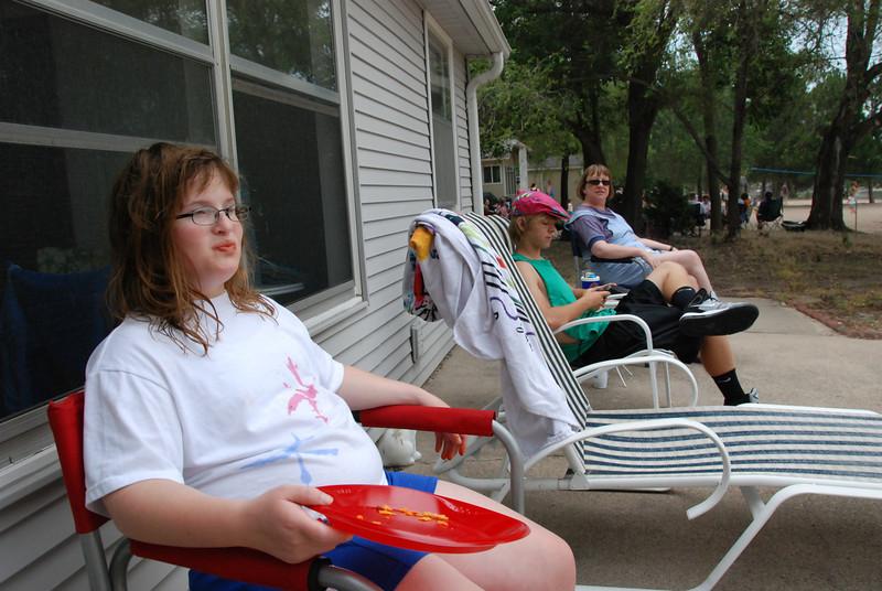 Michaela, Jeremy and Melinda.