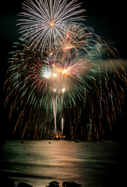 4th of July Fireworks - Dana Point, CA