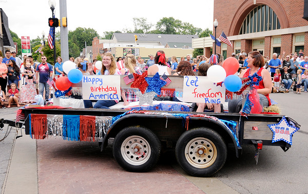 Don Knight | The Herald Bulletin<br /> Pendleton 4th at the Falls Parade on Monday.