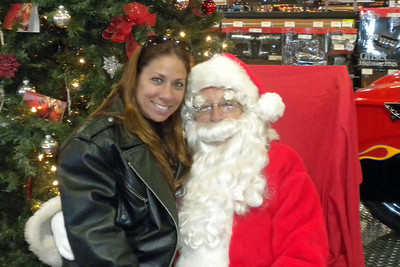 88: Santa Visits J&P Cycles Destination Daytona Superstore December 11, 2010