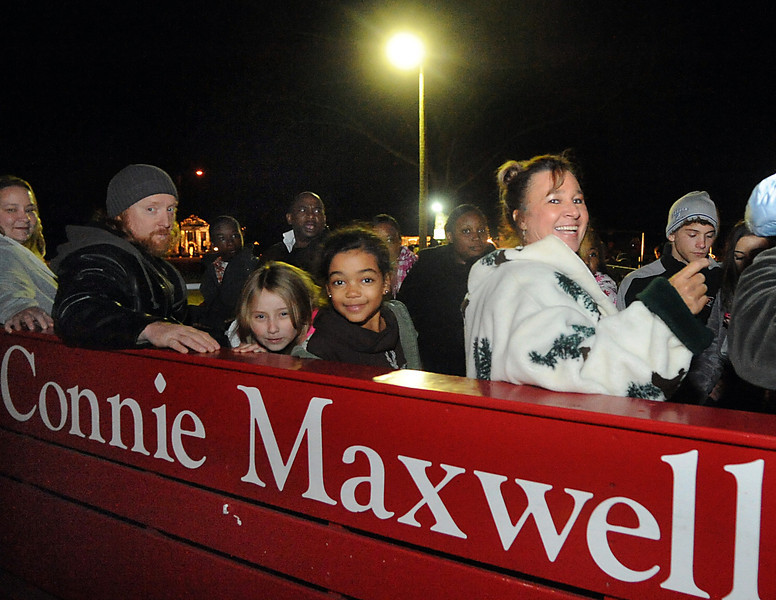 "Connie Maxwell President and CEO Ben and Polly Davis welcomed thousands of guests who enjoyed the horse-drawn carriage rides, bright lights and Noel-inspired festivities along with hot chocolate and Christmas food favorites at the 13th annual ""A Connie Maxwell Christmas"" on the campus of Connie Maxwell Children's Home in Greenwood. <br /> GWINN DAVIS PHOTOS<br /> gwinndavisphotos.com (website)<br /> (864) 915-0411 (cell)<br /> gwinndavis@gmail.com  (e-mail) <br /> Gwinn Davis (FaceBook)"