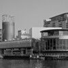 The Lowry Museum as seen from Media City