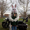 Easter Egg Hunt at Hessville Park in Hammond, Indiana sponsored by American Veterans Motorcycle Riders Association (AVMRA) Chapter 1