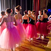 "Mark Maynard | for The Herald Bulletin<br /> Dancers in the Anderson Young Ballet Theatre's production of ""The Nutcracker"" wait in the wings for their cue to take the stage at the Paramount Theatre."