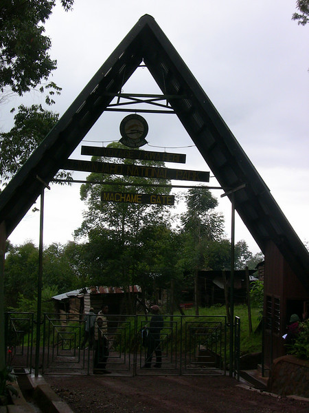 Machame Gate, our gateway and starting point to Mount Kilimanjaro.