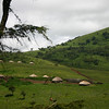 Massi village close to the Ngorongoro crater.