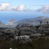 View from Table Mountain, looking towards Hout Bay.