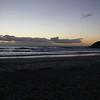 Llandudno Beach at dusk.