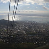 Cape Town from the cable car.