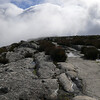 Cloudy Table Mountain.