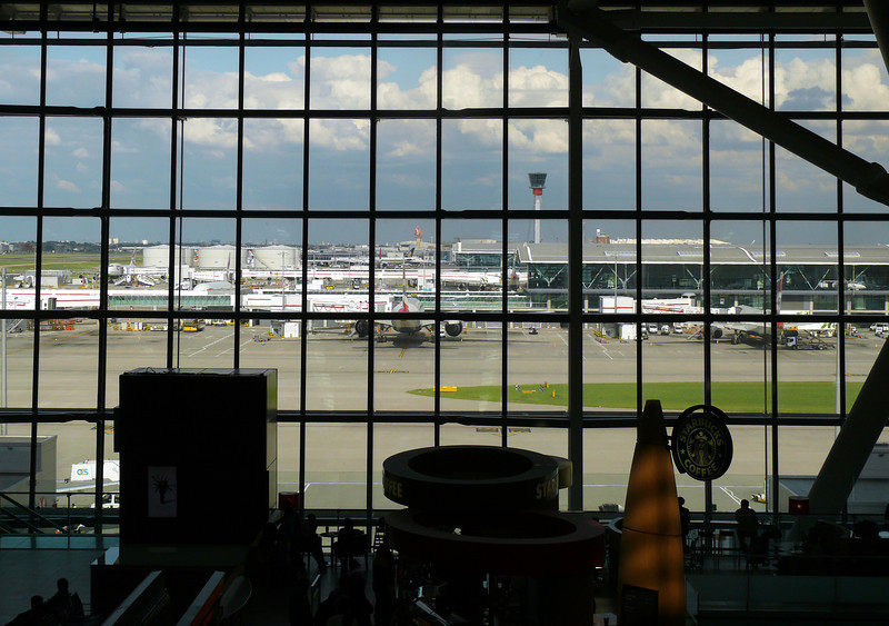 Terminal 5, Heathrow Airport.