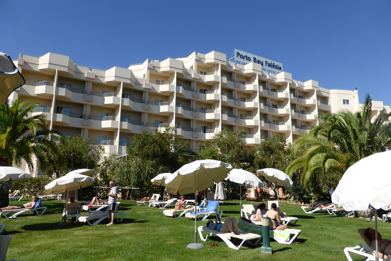 Our hotel in Olhos d'Agua, 6km East of Albufeira (2nd time there!)
