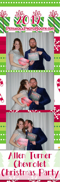 Allen Turner Chevrolet Christmas Party 12-15-19 with Pensacola Photo Booth