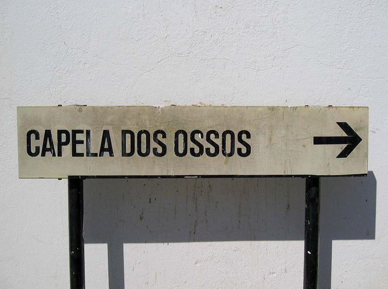 Capela dos Ossos in Alcantarilha