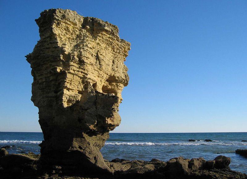 Rock-a-billy voor de kust van Olhos de Agua