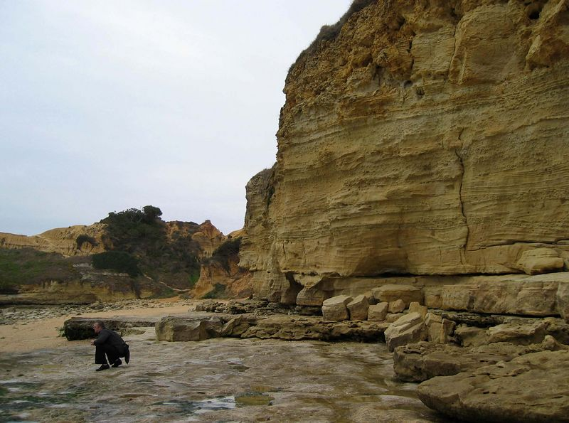 De kust van Praia da Falésia