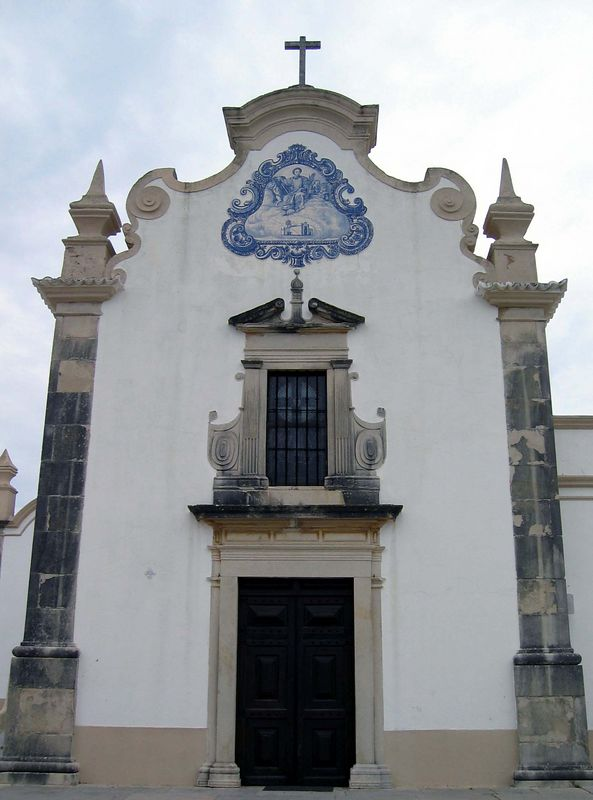 São Lourençokapel, binnen prachtige azulejo's die we helaas niet mochten fotograferen