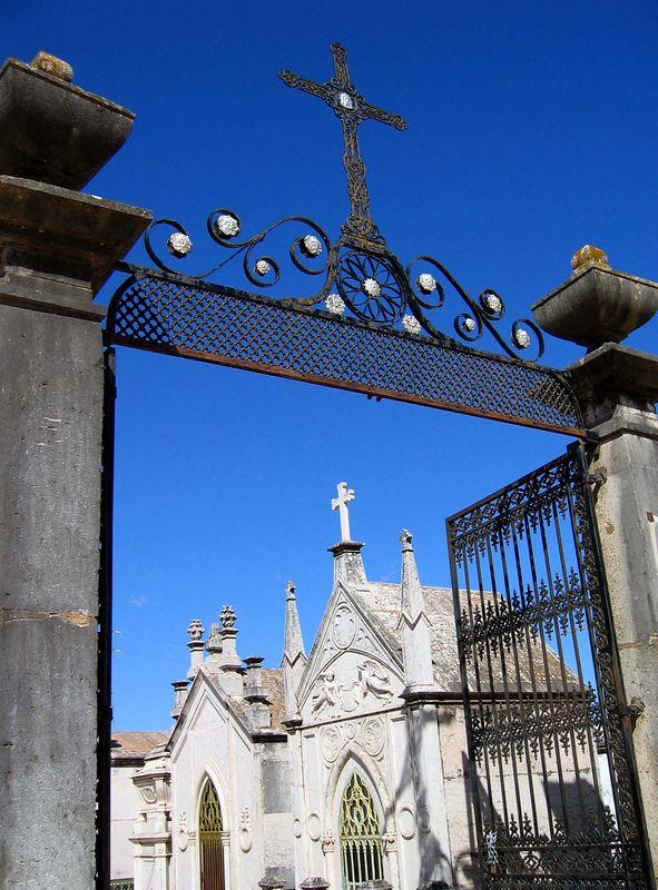 Prachtige begraafplaats in Silves